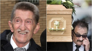 Paul carries coffin as hundreds mourn Barry Chuckle