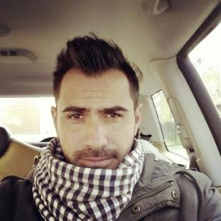 Davide Capello, 33, a firefighter and football player.