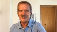 Chris Hadfield tell ITV News how music affected him in space