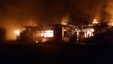 Major fire at former Norfolk Pontins camp 'most likely' arson