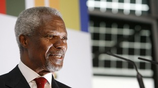 Former United Nations chief and Nobel Peace Prize recipient Kofi Annan dies aged 80