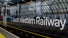 Disruption as South Western Railway workers strike
