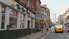Man in hospital after Leeds city centre stabbing