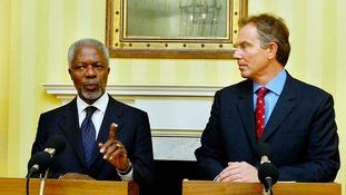 Tony Blair leads tributes to 'true statesman' Kofi Annan
