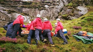 Youth 'hit by falling sheep' injured on Mourne Mountains