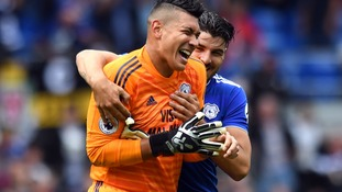 Cardiff's Etheridge denies 10-man Newcastle with stoppage-time penalty save