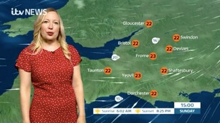 Remaining mild and cloudy with outbreaks of patchy rain