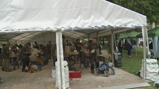 Stonemasons from around the world showcasing their skills in York