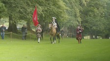 Bonnie Prince Charlie returns to Traquair