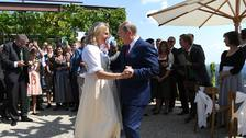 Putin attends Austria's foreign minister wedding
