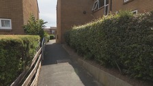Police called to Langsett Walk, on Tuesday evening where the man, who has not been named, was found in an alleyway.