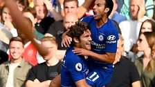 Alonso and Hazard shine as Chelsea overcome Arsenal