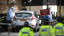 Man charged over Westminster security barrier crash