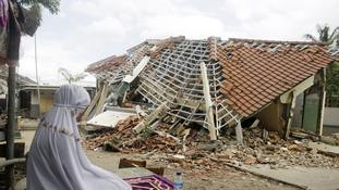 Indonesian island struck by another strong earthquake