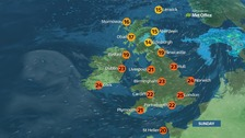 Weather: Cloudy for many with light showers