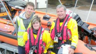 'Huge thrill' as woman becomes lifeboat's first female skipper