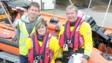 Woman becomes lifeboat's first female skipper