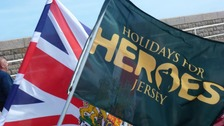 Holiday for Heroes Jersey celebrating it's 10th anniversary