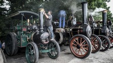 In Pictures: Steam fans get set for Dorset festival
