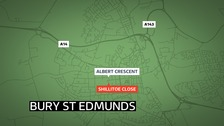 Two people were seriously assaulted in Bury St Edmunds