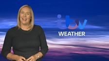 Kate has the latest weather