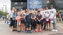 Ipswich Town fans raise just under £1,000 for tennis charity