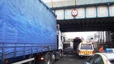 Vehicles 'hit bridges eight times in seven days'