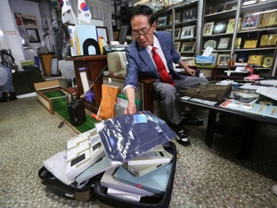 South Koreans, such as Yoon Heung-kyu, 91, have prepared gifts for their North Korean relatives.