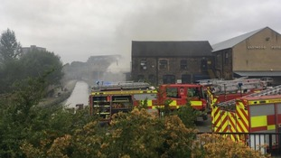 Firefighters were called to the Emma Bridgewater Factory in Stoke-on-Trent on Friday.