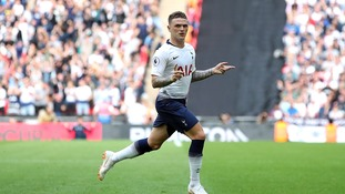 Kieran Trippier is determined to kick on with Spurs this season after a successful World Cup campaign with England
