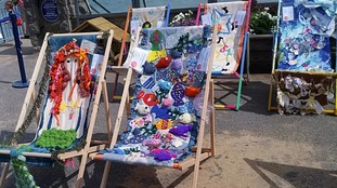 Stitch-up down in Swansea! Textile triumphs on show  at festival