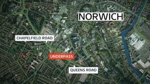 A woman in her 70s was sexually assaulted in Norwich