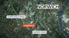 Woman in her 70s sexually assaulted in Norwich