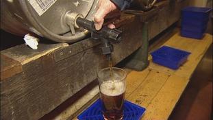real ale, barrel, Herne