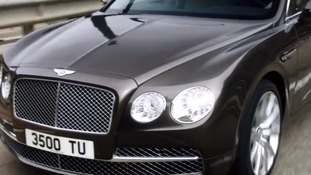 The Bentley Continental has a starting retail price of £132,000