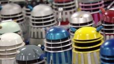 Dr Who fans gather for Daleks auction