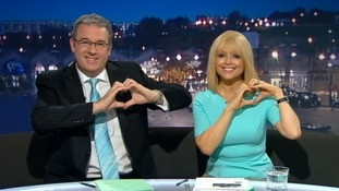 "Christine & Duncan do the ""handheart"""