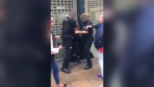 Police defend restraint technique used on teenage girl which 'may look shocking to untrained onlookers'