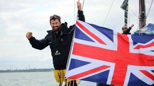 Sharp breaks record in Round Britain and Ireland win