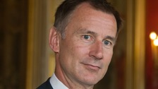 Hunt to call for further sanctions against 'aggressive' Russia
