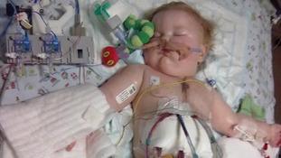Joe in hospital