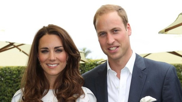 The Duke and Duchess of Cambridge were on a private holidays when the photographs were taken.