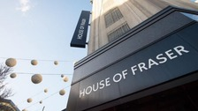 House of Fraser on London's Oxford Street saved from closure