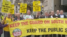 RMT to hold strike ballot at SWR in the dispute over guards