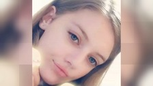 Murdered schoolgirl's father will not attend funeral 'to avoid conflict'