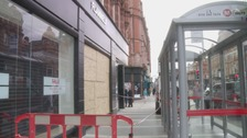 The Flannels Store on Vicar Lane