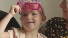 Birthday girl with rare cancer travels abroad for treatment