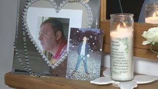 Simon Holt from Bradford suffered in silence for 14 years