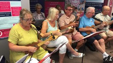 Playing the ukulele to end loneliness