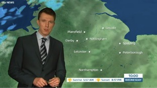 East Midlands Weather: Warm with sunny spells, rain in places later
